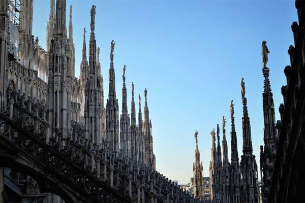 duomo05 - ミラノのシンボル大聖堂ドゥオーモ
