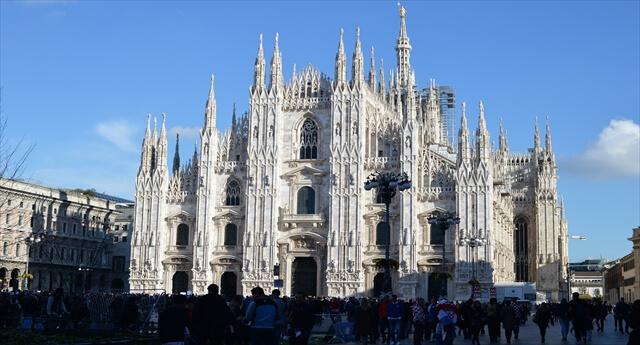 STK 2904 R - ミラノのシンボル大聖堂ドゥオーモ