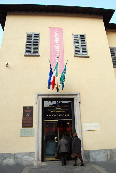 cenacolo01 - ミラノの宝世界遺産最後の晩餐