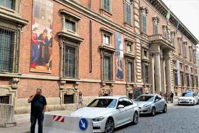 pinacoteca brea02 - ミラノを代表する絵画館「ブレラ美術館」