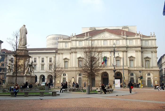 teatro scala01 - オペラ最高峰、ミラノ・スカラ座を見学しよう