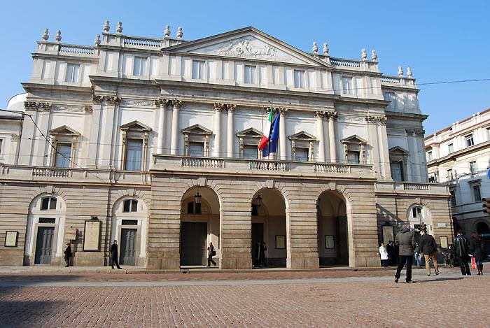 teatro scala02 - オペラ最高峰、ミラノ・スカラ座を見学しよう