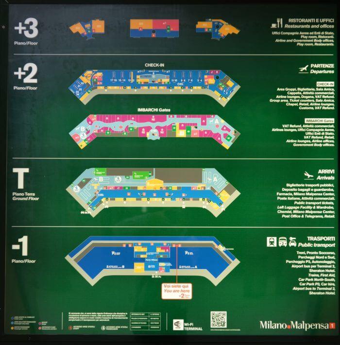 STK 9334 e1543245316846 - マルペンサ空港で迷わない、空港内を詳しく紹介