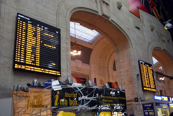 station inside08 - ミラノ中央駅で迷わない、駅を徹底解説!