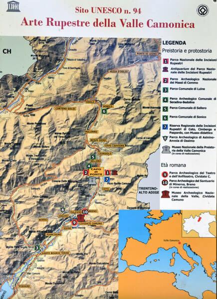 01 4 - イタリア初の世界遺産「ヴァルカモニカの岩絵群」