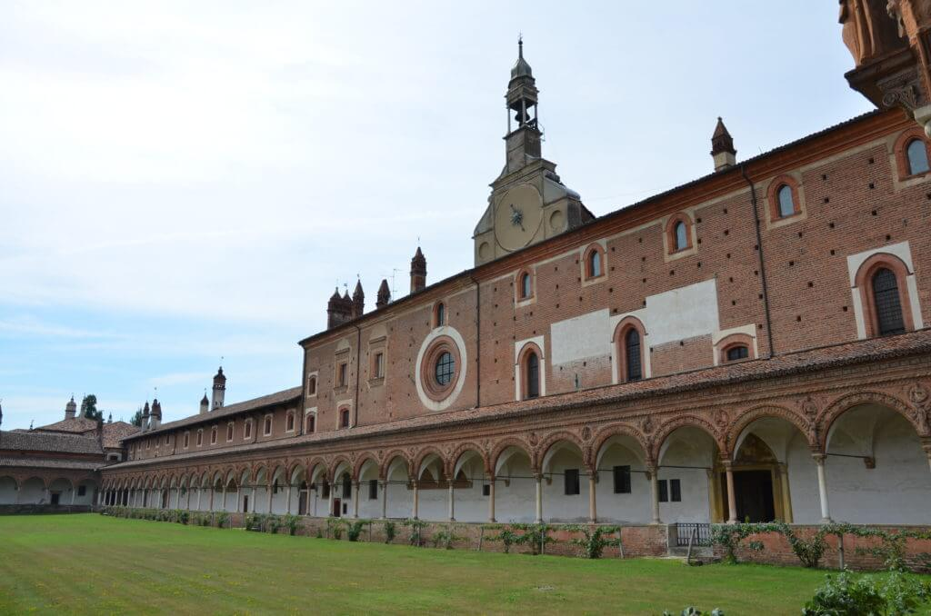 DSC 7633 1024x678 - 見ごたえたっぷりのパヴィア修道院(Certosa Di Pavia)