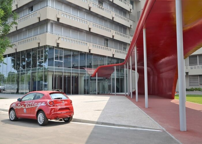 alfaromeo museo 1 - アルファロメオ博物館(Museo Storico Alfa Romeo)
