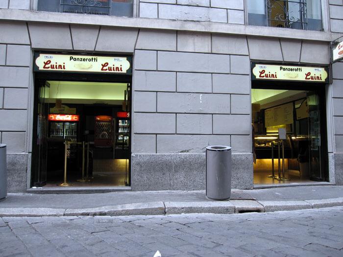 luini01 - 揚げピザ LUINIを食べながらミラノ観光を満喫しよう