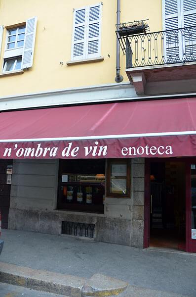 nombra de vin01 - ミラノ最大級のエノテカ N'ombra de vin