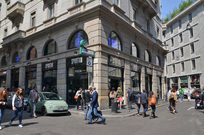 spontini01 - ミラノの老舗B級グルメ、ピッツァ・スポンティーニで美味しい旅を楽しもう