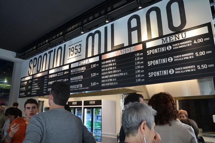 spontini02 - ミラノの老舗B級グルメ、ピッツァ・スポンティーニで美味しい旅を楽しもう