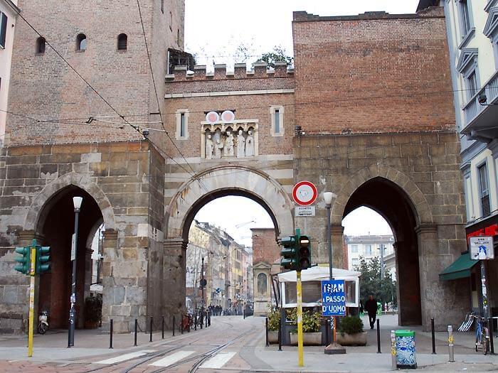 porta ticinese02 - ティチネーゼ門(porta_ticinese)