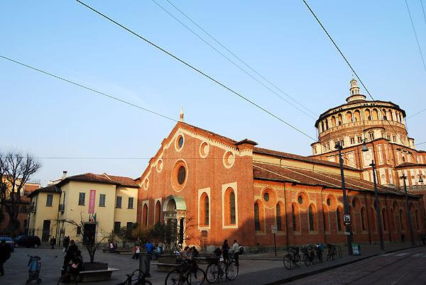 santa maria grazie01 - ミラノ観光の本当に必見スポット5選!