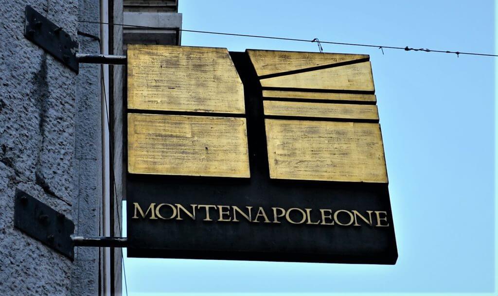 モンテ看板 1024x609 - ミラノ観光のショッピング、お土産のお勧めスポット