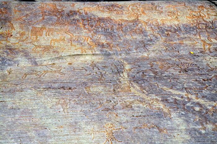 世界遺産 ヴァルカモニカの岩絵群