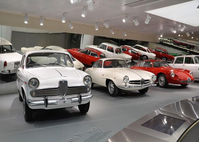 alfaromeo museo 4 - アルファロメオ博物館(Museo Storico Alfa Romeo)