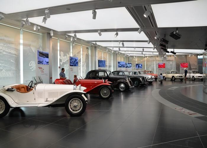 alfaromeo museo 8 - アルファロメオ博物館(Museo Storico Alfa Romeo)