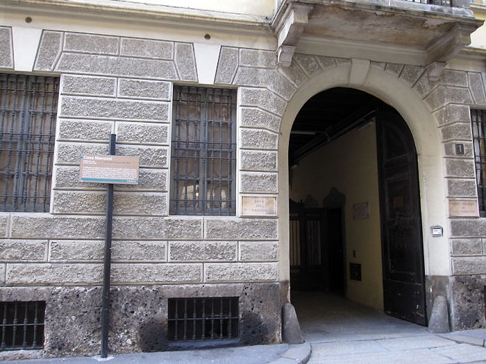 ミラノ マンゾーニの家