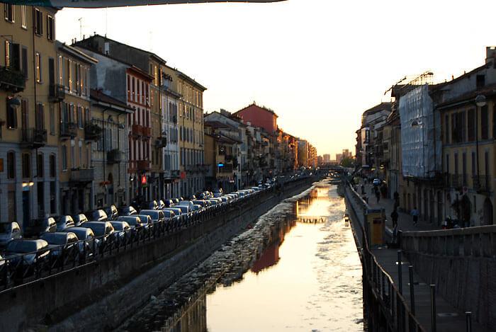 ミラノ ナヴィリオ地域