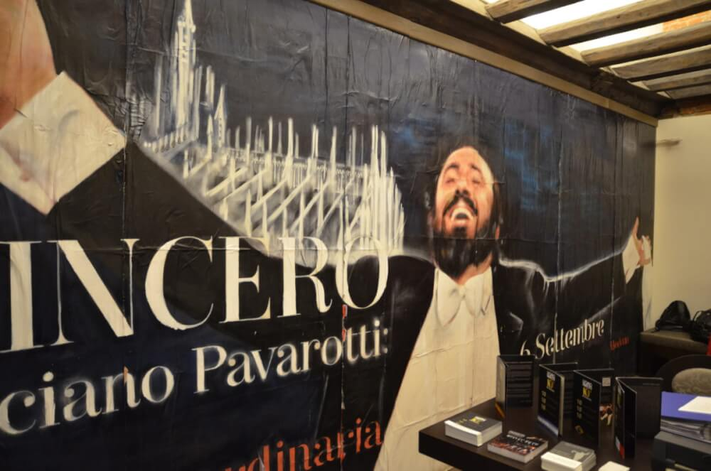 ミラノ パバロッティミュージアム
