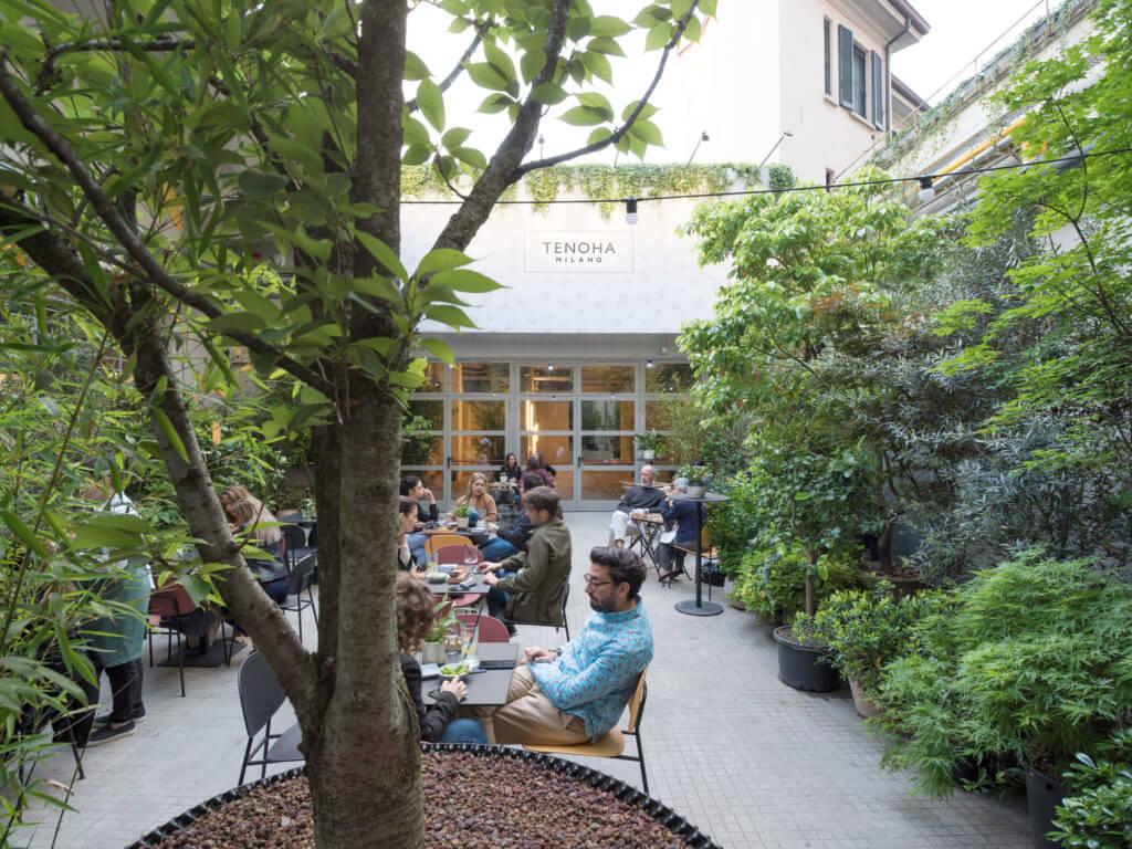 tenoha garden 02 1024x768 - 複合施設「テノハミラノ(TENOHA MILANO)」