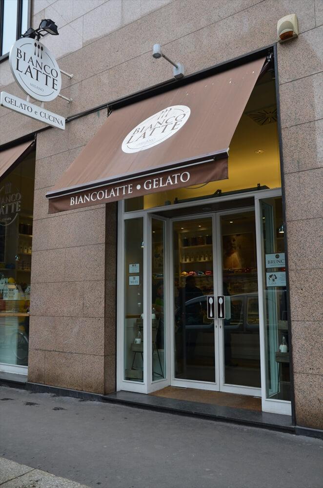 Italia milano 1 min R - ジェラートのおいしいお店「ビアンコラテ」