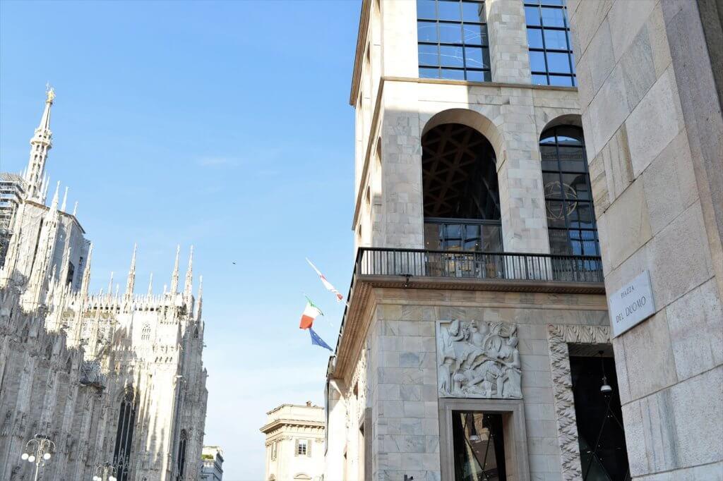 STK 3841 min R 1024x682 - ミラノ中心地絶景のレストランジャコモアレンガリオ「Giacomo Arengario」