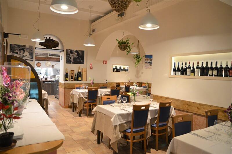 STK 3656 min R - ウニ、絶品の魚介を堪能。ミラノの老舗レストラン「AL GRISSINO」