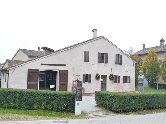 STK 6393 min R - ジョゼッペ・ヴェルディ所縁の地「養老院」「ホテル」「生家」「博物館」「ヴィラ」