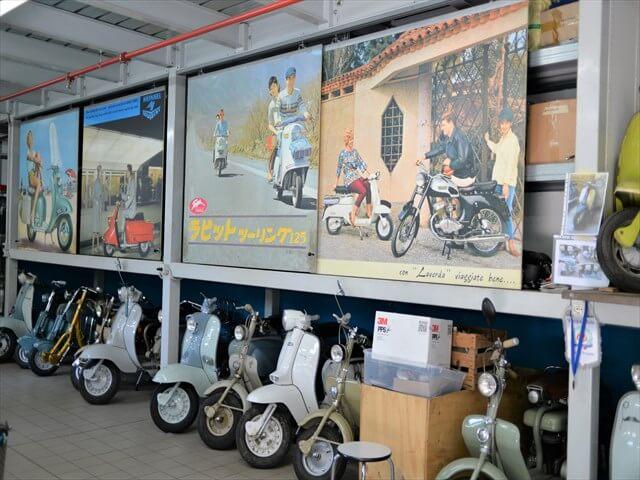 STK 7945 min R - ミラノ郊外にある珍しいスクーター博物館(museo scooter&lambretta)