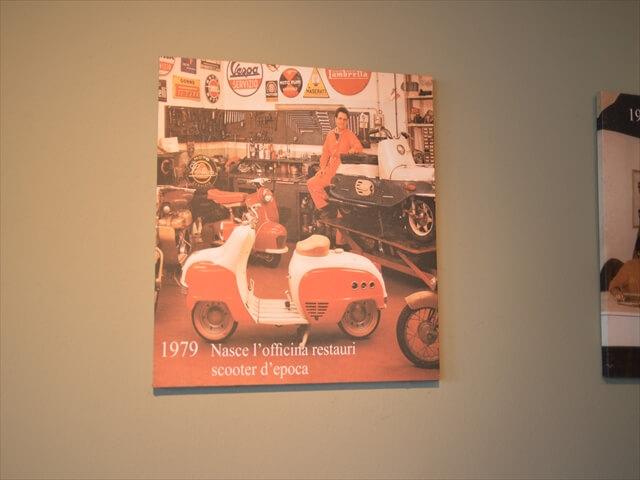 STK 7966 min R - ミラノ郊外にある珍しいスクーター博物館(museo scooter&lambretta)