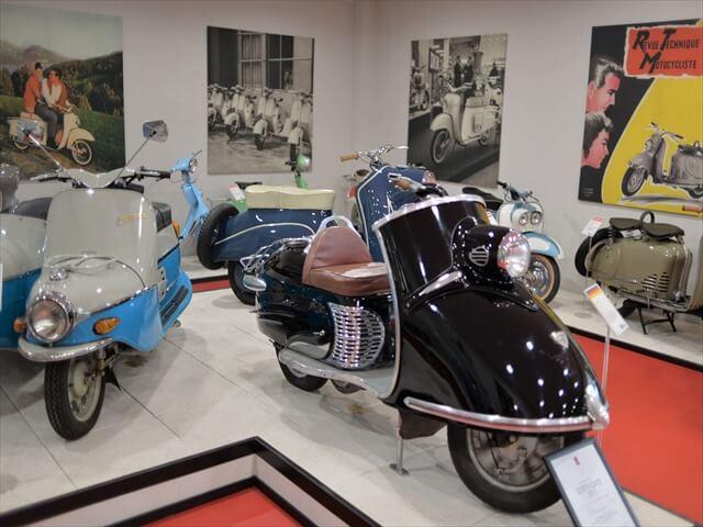 STK 7989 min R - ミラノ郊外にある珍しいスクーター博物館(museo scooter&lambretta)