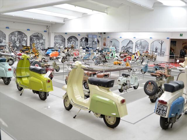 STK 8025 min R - ミラノ郊外にある珍しいスクーター博物館(museo scooter&lambretta)