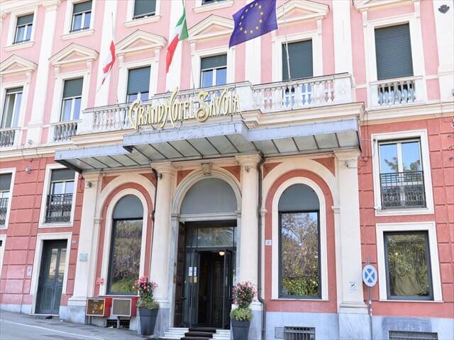 ジェノバのホテル「grand hotel savoia genova」
